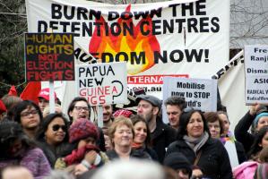 Refugee Aust protest