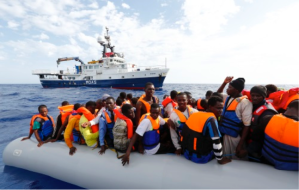 MOAS-Migrant rescue