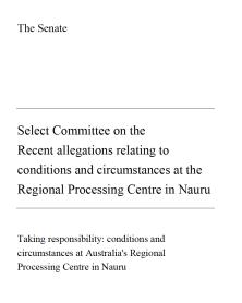 AUS Senate Report Cover