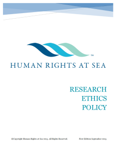 HRAS Research Ethics logo