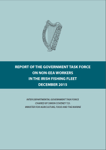 Front Cover - REPORT OF THE GOVERNMENT TASK FORCE ON NON-EEA WORKERS IN THE IRISH FISHING FLEET DECEMBER 2015